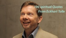 100 Spiritual Quotes from Eckhart Tolle