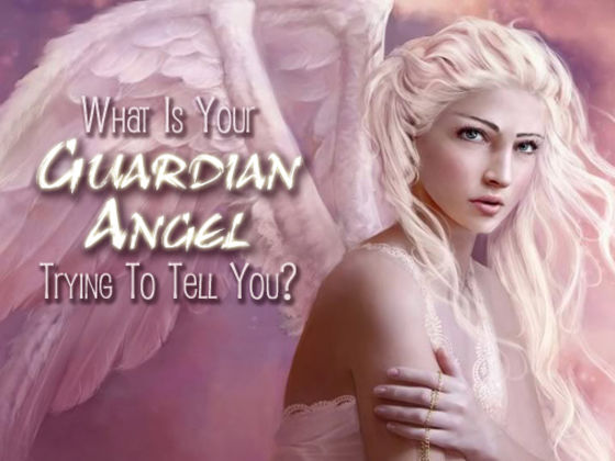 Guardian Angel Trying To Tell You