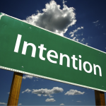 How to use the power of intention to manifest what you want